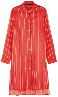 Vix Paula Hermanny V i X Paula Hermanny V I X Paula Hermanny Ada Red Striped Cotton Dress
