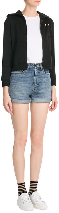 Marc By Marc JacobsMarc by Marc Jacobs Denim Shorts with Sequins and Embroidery