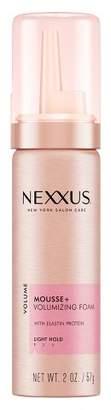 Nexxus Light Hold Hair Mousse + Volumizing Foam -Travel Size - 2oz