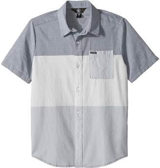 Volcom Crestone Short Sleeve Shirt Boy's Short Sleeve Button Up