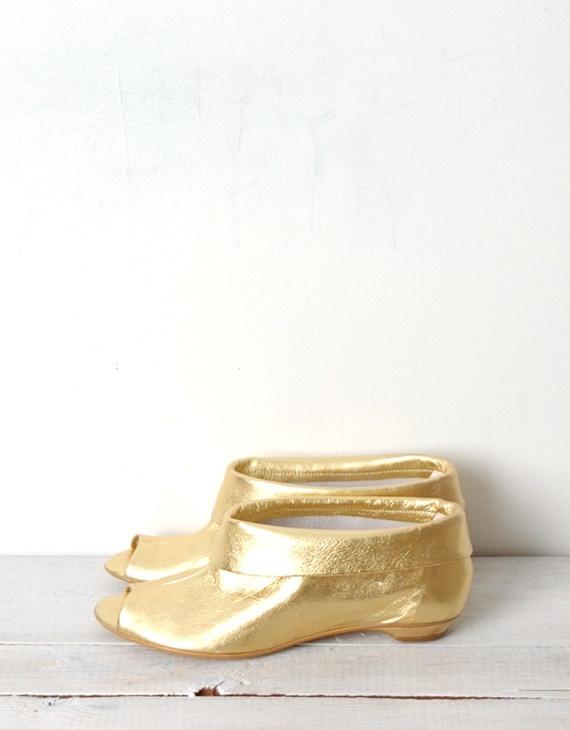 Jeffrey Campbell Venus Galaxy Gold Bootie