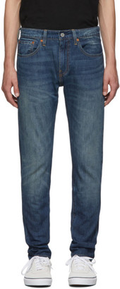 Levi's Levis Blue 512 Slim Taper-Fit Jeans