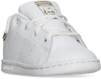 adidas Toddler Girls' Stan Smith Casual Sneakers from Finish Line $54.99 thestylecure.com