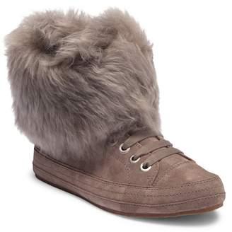 UGG Antoine Fur Cuff Sneaker