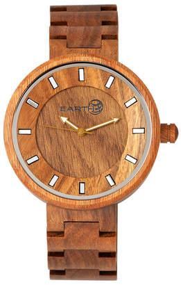 Earth Wood Branch Wood Bracelet Watch Olive 45Mm