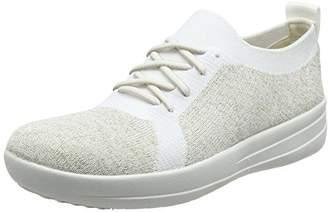 c24fccb7b230 FitFlop F-sporty Uberknit Sneakers, Women's Metallic Trainers,(36 EU)