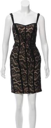 Rag & Bone Sleeveless Knee-Length Lace Dress