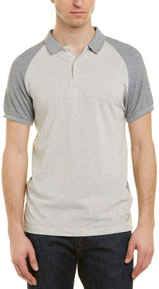 Scotch & Soda Pique Structured Polo Shirt