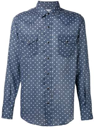 Saint Laurent star print Western shirt