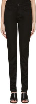 Proenza Schouler Black High Waist Skinny Jeans $255 thestylecure.com