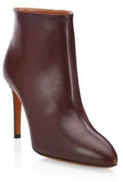 Gucci Alaà ̄a Alaà ̄a Women's Leather High Heel Ankle Booties - Cassis - Size 41 (11)