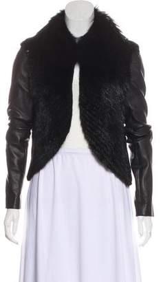 J. Mendel Cropped Fur Jacket