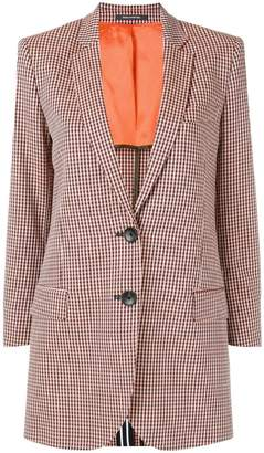 Paul Smith checked single-breasted blazer