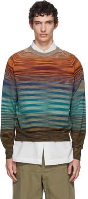 Missoni Multicolor Stripe Crewneck Sweater