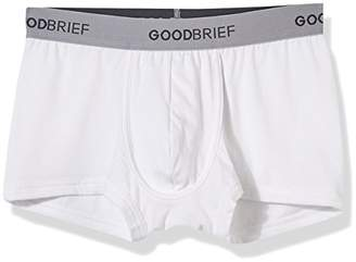 Good Brief Men's 3-Pack Cotton Stretch Low Rise Trunk Multi Color(Blue Sky-Blue Yellow)