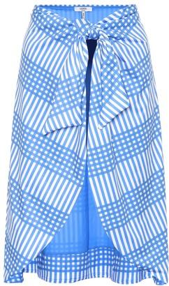 Ganni Exclusive to mytheresa.com Aroa printed skirt