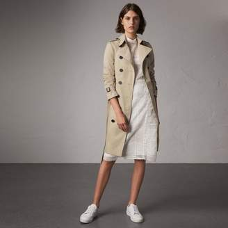 Burberry The Sandringham - Long Trench Coat