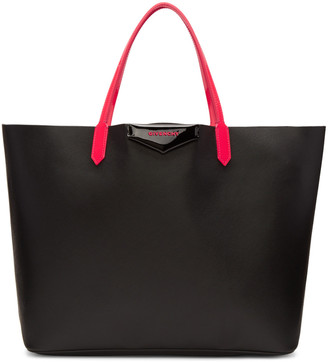 Givenchy Black & Pink Large Tote Bag $1,320 thestylecure.com