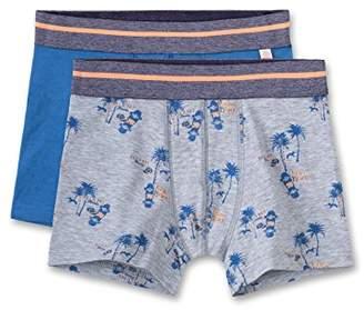 Sanetta Boy's DP Shorts 334064 + 334065 (Grey Mel. 1737.0)