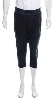 By Walid Drop-Crotch Distressed Pants