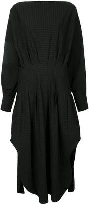CHRISTOPHER ESBER multi-tuck shirt dress