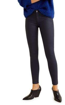 MANGO Waxed Skinny-Fit Jeans
