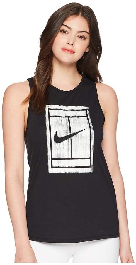Nike Court Tomboy Tennis Tank Top Women's Sleeveless