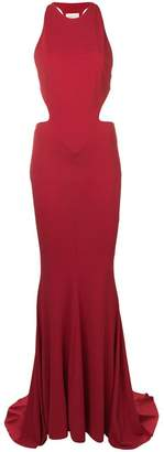 Alexandre Vauthier long fitted dress