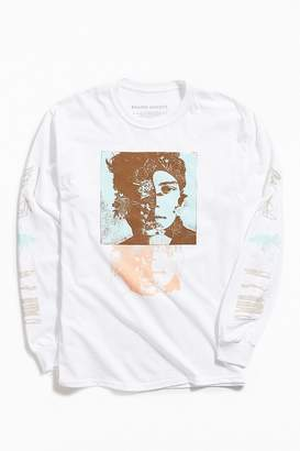 Urban Outfitters Shawn Mendes Photo Warp Long Sleeve Tee