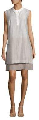 Peserico Layered Shirt Dress