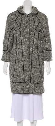 Thakoon Tweed Knee-Length Coat w/ Tags