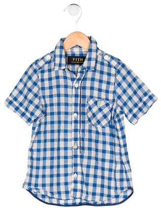 Fith Boys' Gingham Shirt