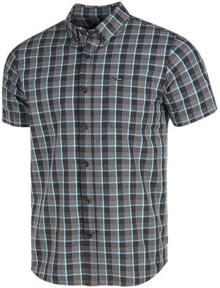 Rip Curl Men's Tight Weave Plaid Pocket Shirt
