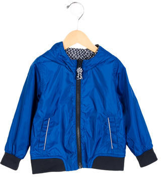 Little Marc Jacobs Boys' Reversible Lightweight Jacket w/ Tags $75 thestylecure.com