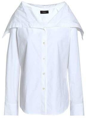 Theory Stretch Cotton-Poplin Shirt