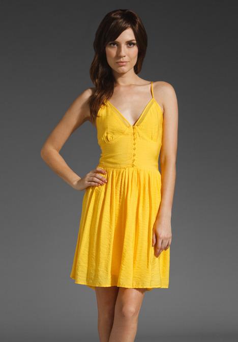 BB Dakota Thatcher Woven Dress