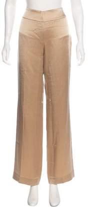 Akris Wool-Blend Wide-Leg Pants