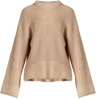 ELIZABETH AND JAMES Aimee split-hem cotton-blend sweater $395 thestylecure.com