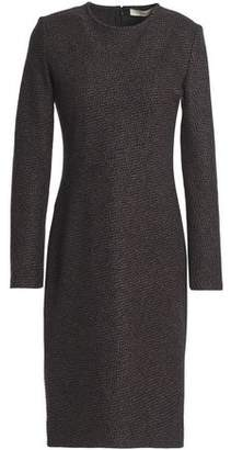 Vanessa Bruno Herringbone Wool-Blend Dress