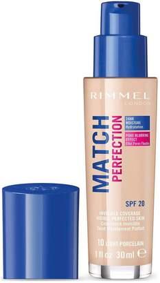 Rimmel Match Perfection Foundation Medium Coverage 30ml