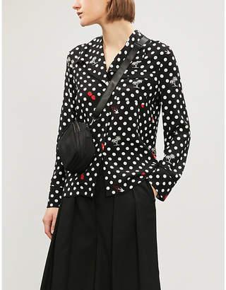 McQ Polka dot-patterned woven shirt