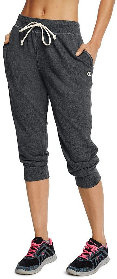 Women's Champion French Terry Jogger Capris