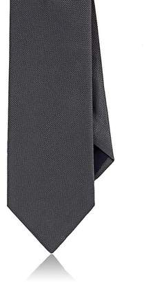 Barneys New York MEN'S TEXTURED SILK NECKTIE