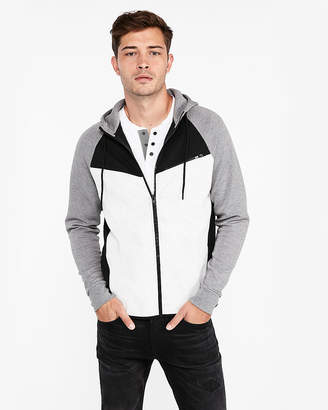 Express Color Block Full Zip Hoodie