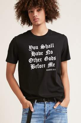 Forever 21 Bible Verse Graphic Tee