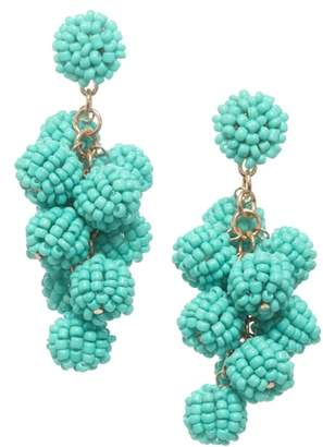 Stella + Ruby Bauble Cluster Earrings