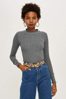 Topshop Petite Mini Cable Knit Jumper