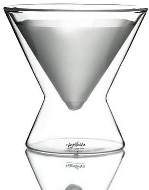 Highwave Inc. La MarTini 8 oz. Frosted Double Wall Glass