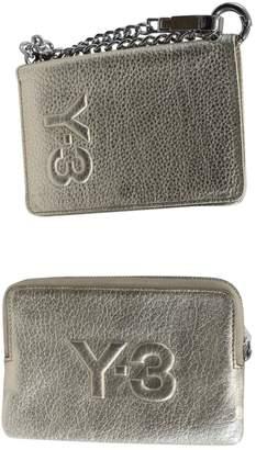 Yohji Yamamoto Gold Leather Clutch Bag