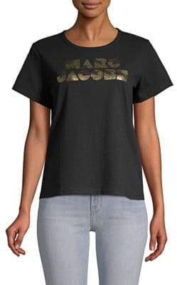 Marc Jacobs Graphic Short-Sleeve Cotton Tee